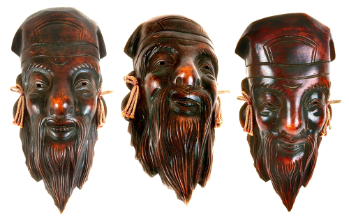 masks wooden masks souvenirs