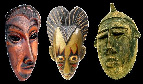 masks wooden masks carved masks