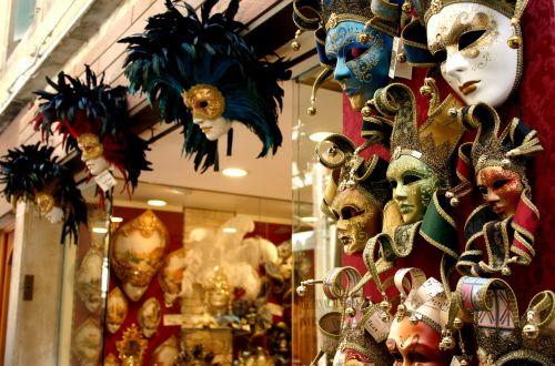 masks venetian venice