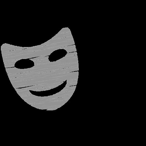 masks icon theater icon