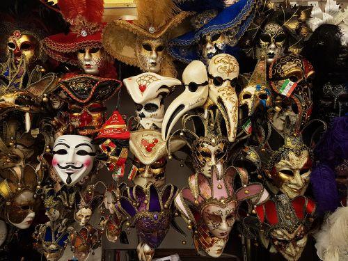 masks venice italy