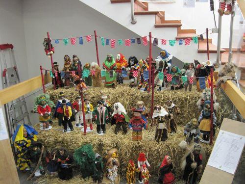 masks carnival miniature