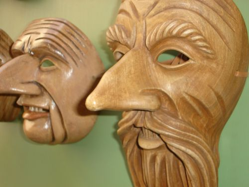 masks wood carved masks