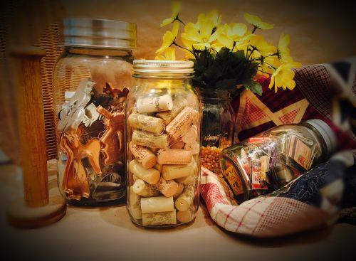 mason jar nostalgic quilt