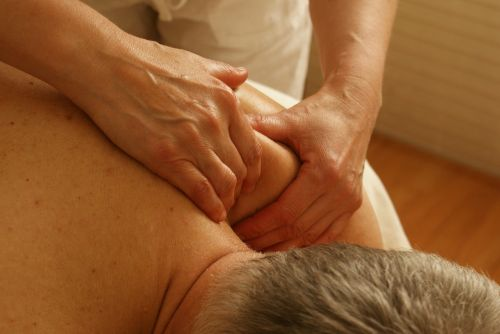 massage shoulder relaxation massage