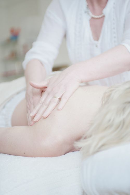 massage content calm