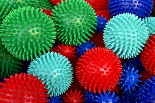 massage balls  hedgehog balls  barbed balls