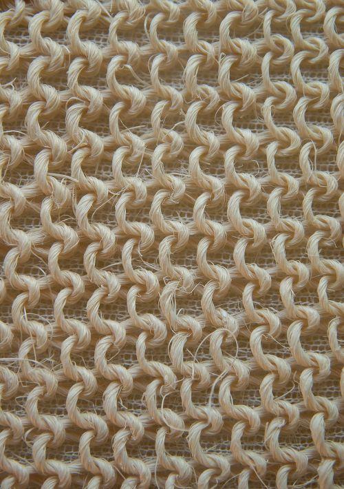 massage glove horsehair braiding