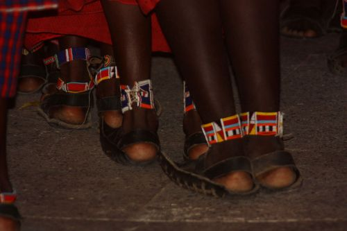 Massai's Shoes