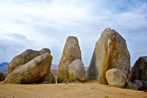 Massive Desert Boulders