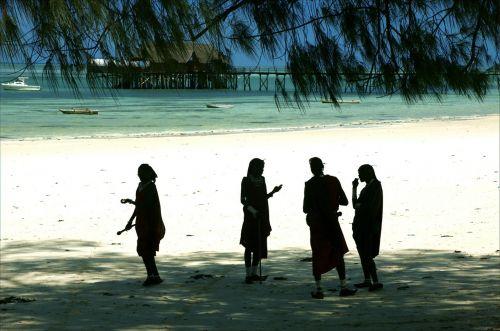 masszai fighters the southern sunshine zanzibáron the beach of