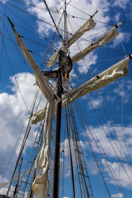 mast sail ship masts