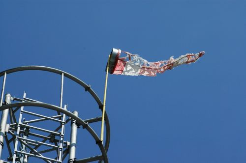 mast ladder windsock