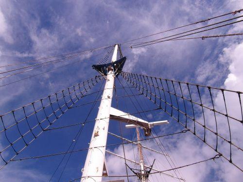 mast sailing vessel gorch fock