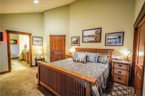 master bedroom residence home