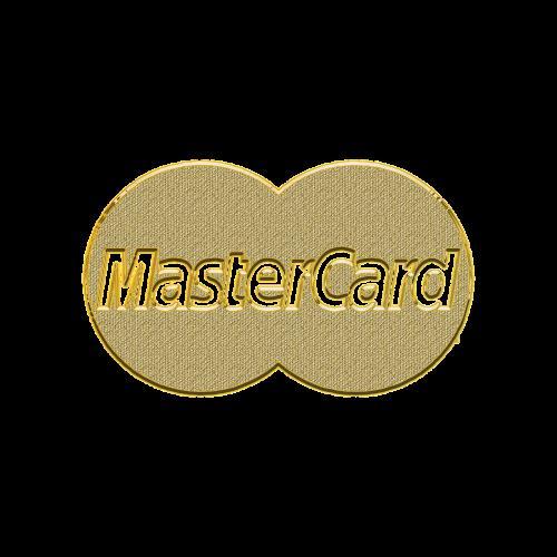 master card plastic card bank card