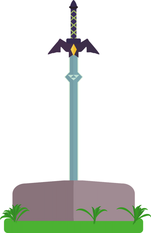 master sword sword weapon