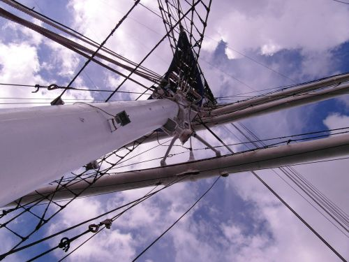 masts gorch fock stralsund