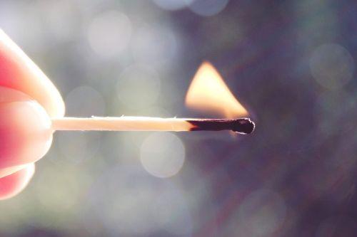 match flame fire