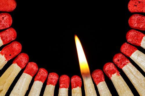 match flame lighter