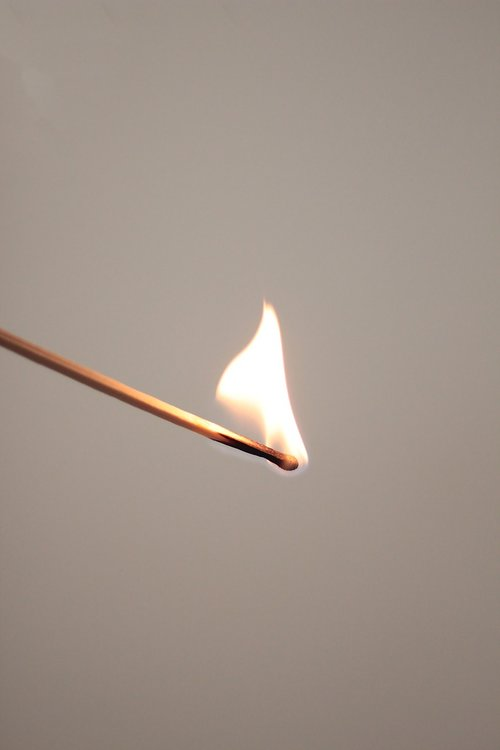 match  fire  flame