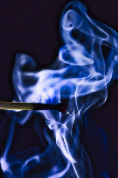 match  burned  fire