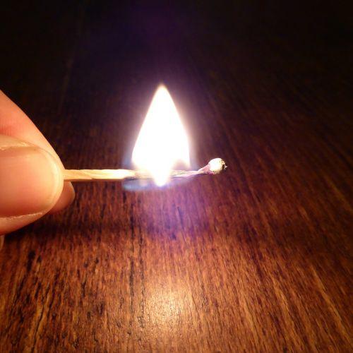 match fire burn