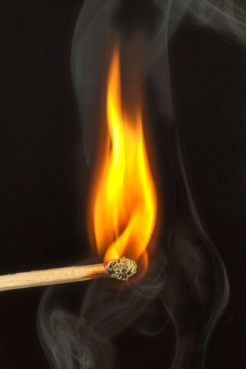 match fire close