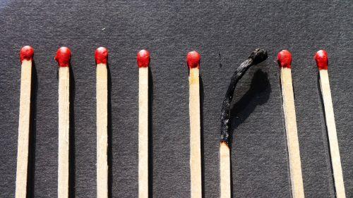 match wood matches