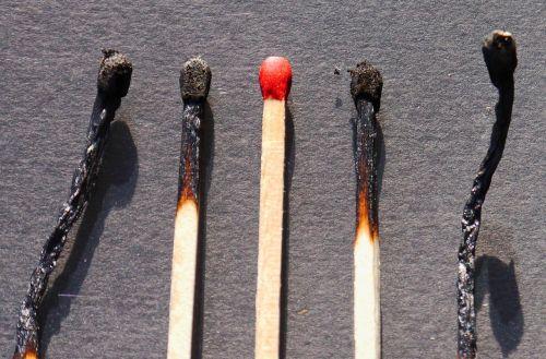 match wood sulfur