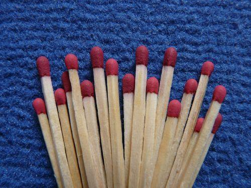 matches fire burn