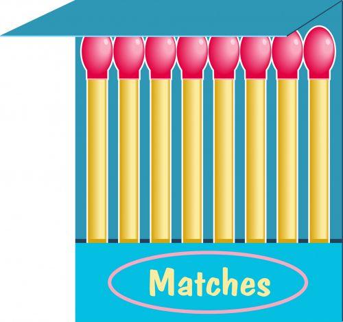 Matches Clip Art