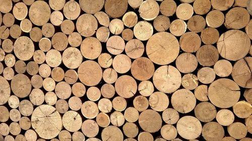 material wood logs