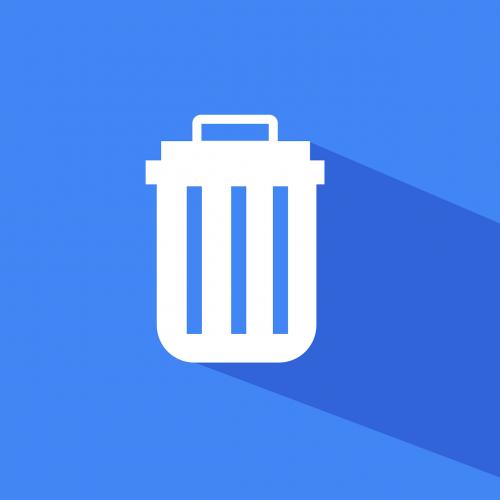 material icon material design delete icon