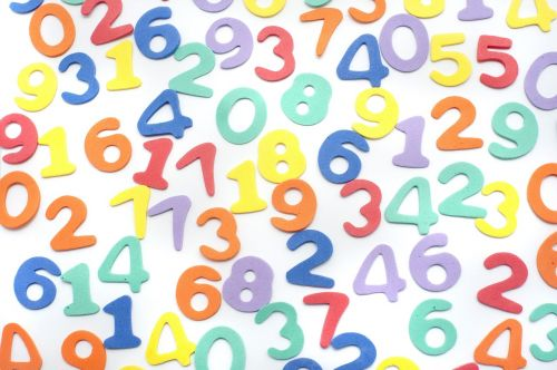background numbers mathematics