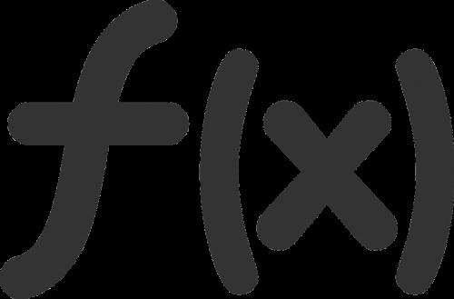 math function symbol