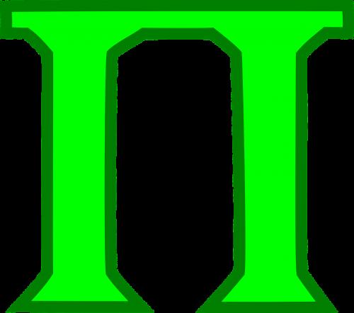 math pie symbol