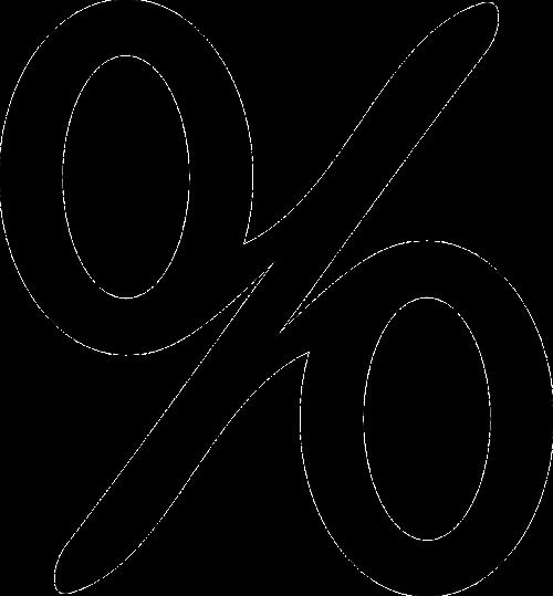 mathematics percentage symbol