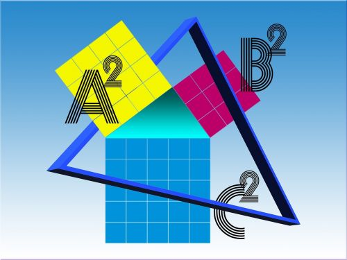 mathematics graphic square