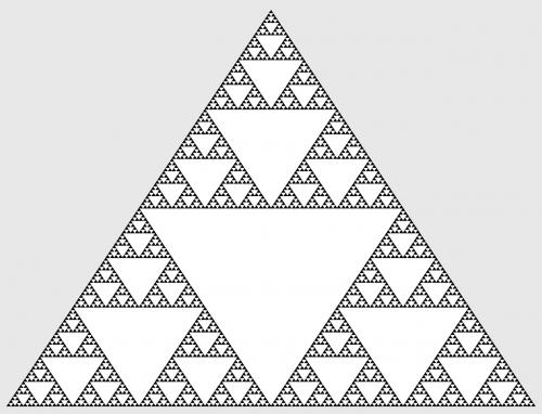 mathematics sierpinski triangle