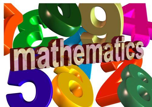 mathematics pay colorful