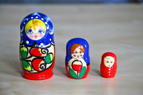 matrioshka souvenir russia