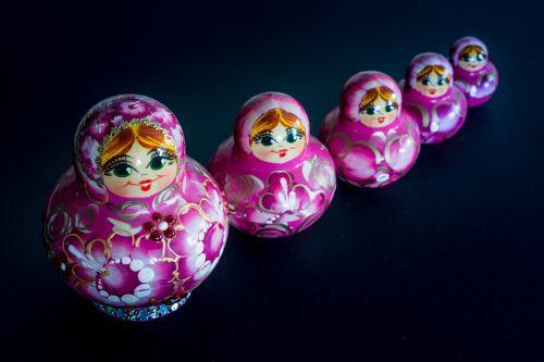 matryoshka russian doll russian