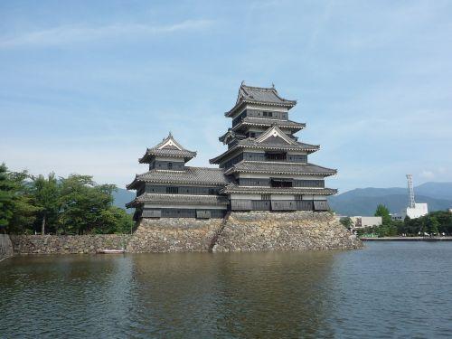 matsumoto castle building castle