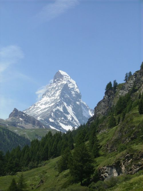 matterhorn alpine mountain