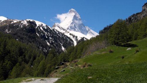 matterhorn mountain zermatt