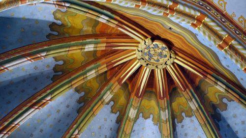 matthias church ceiling murals