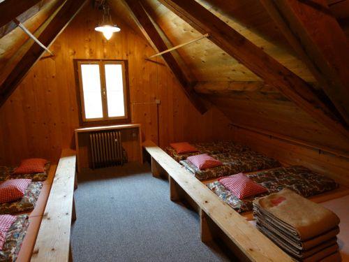 mattress camp mountain hut mass storage