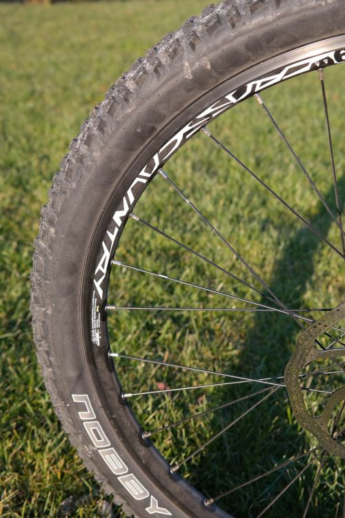 mature mountain bike tyres tunnel
