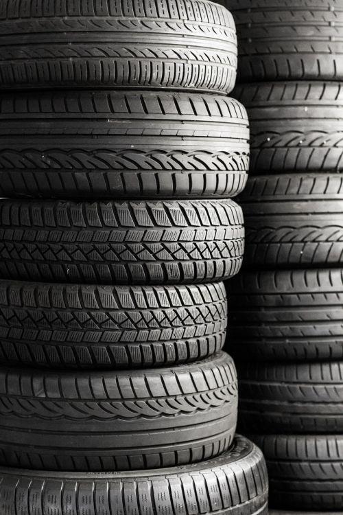 mature tires auto tires